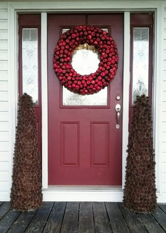 Pine Cone Topiary, Christmas Topiary, Holiday Centerpiece
