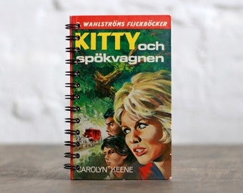 "Hardcover Notebook Tartuensis College ""Kitty"" from Old Book Covers"