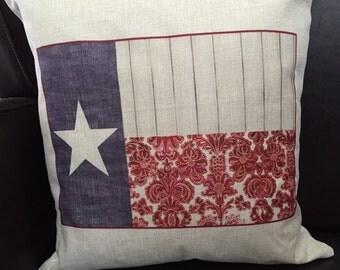 Pillow. Texas  pillow. Throw pillow. Texas flag pillow. Texas throw pillow. Sofa pillow.