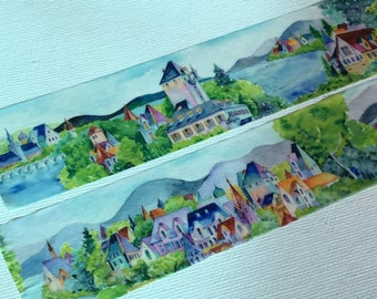 1 Roll Limited Edition Washi Tape: Little Village