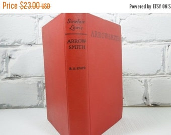 On Sale Price Arrowsmith by Sinclair Lewis. Vintage Hardback Book. Literature. Library. Book Collection. Office. Study.