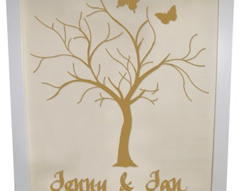Wedding tree guestbook to the wedding