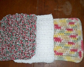 Small Cotton Dishcloths