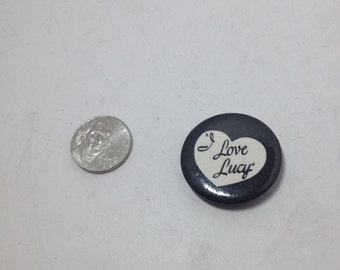 Vintage tv Button :  i love lucy