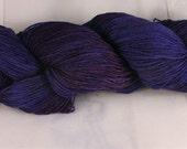 The Purple in Monkey -  superwash merino