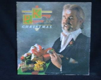 Vintage Record Kenny Rogers: Christmas Album  LOO-51115