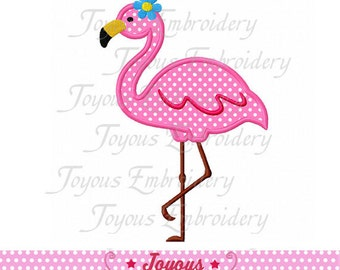 Instant Download Flamingo Applique Machine Embroidery Design NO:2097