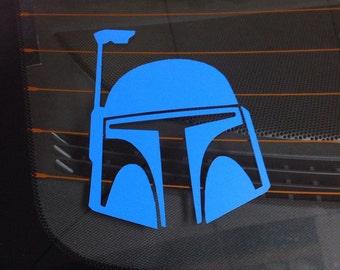 CHARACTER Decal - Star Wars Jango Fett Vinyl Decal