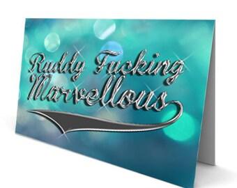 Marvellous Card