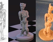 Custom 3D Printed Game Pieces / Miniture