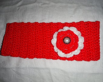 Headband with double Flower