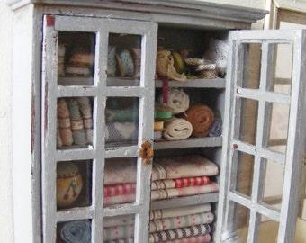 Haberdashery wall cupboard
