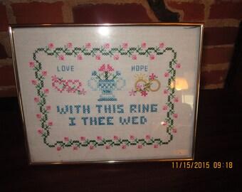 Wedding Embroidery Sampler
