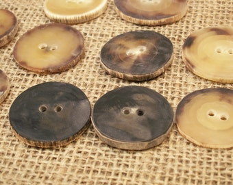 Large Horn Buttons