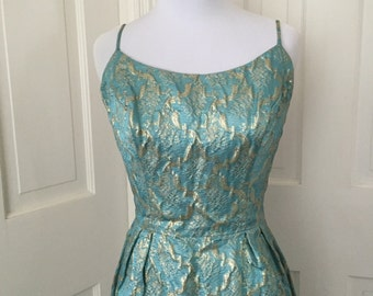50's Harry Keiser party dress