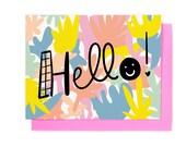 Happy Hello Card