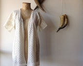 Womens Wandering Heart Lace Duster.Size 8 to 14.