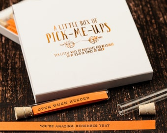 Little Box of Pick Me Up's - Motivational Messages