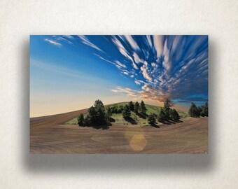 Midwest American Farmland Canvas Art, Midwest Wall Art, Farmland Canvas Print, Photograph, Canvas Print, Home Art, Wall Art Canvas