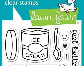 Lawn Fawn - Treat Yourself Stamp Set