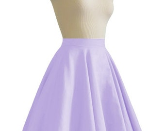 JULIETTE Lilac Purple Rockabilly Swing Rock 'n Roll Skirt//Full Circle Purple Skirt//Retro Mod 50s style Skirt//Party Skirt XXS-3X