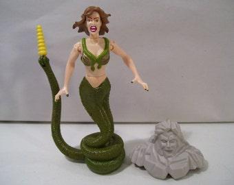 Vintage Hercules Legendary Journeys She-Demon Action Figure 1996, Toy Biz, New