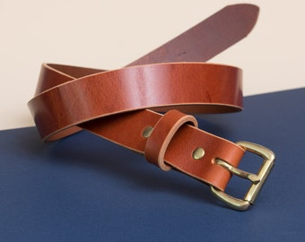 Leather Daily Belt | Whiskey