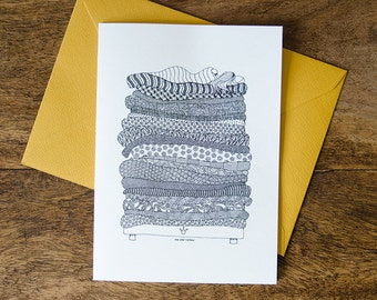 "Greeting card ""The Princess and the Pea"", 108mm x 148mm"