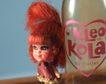 Midcentury Liddle Kiddle Kleo Kola collectable doll