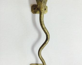 Brass Snake Cabinet Drawer Pull