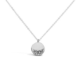 Circle Sterling Necklace
