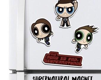 Supernatural Parody Magnet Set