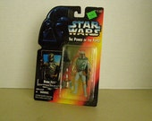 Star Wars Power of the Force 2 Boba Fett 3 3/4 Inch Figure New In Package