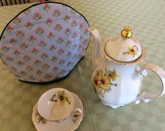 Pink Roses Tea Pot Cozy