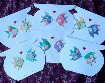 Fish Love Cards - Set of 6