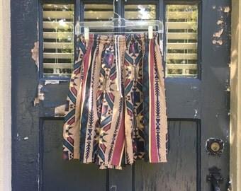 Ralph Lauren Tribal Print Long Shorts