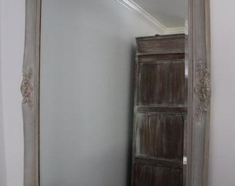 SOLD *****Gustavian Grey Mirror