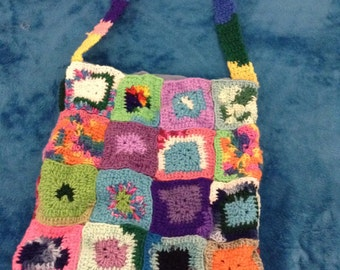 Crochet Quilted Bag