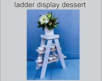 Ladder display dessert