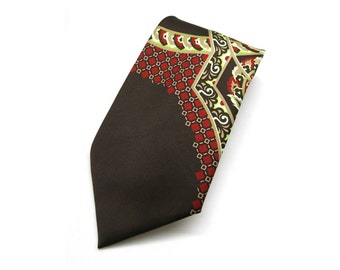 Vtg- 60s Tie - exclusiv design ariston - mid century fashion for men