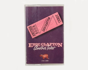 1981 Eric Clapton Another Ticket Cassette Tape