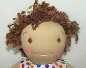 Sophia - 16 in. Waldorf Inspired doll