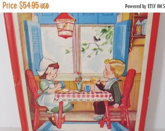 SALE The Red Book of Childrens Stories  Antique Childrens books