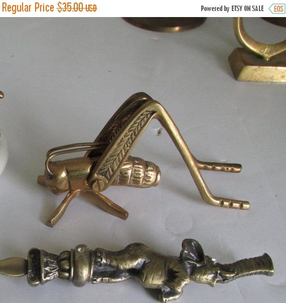 Sale Solid Brass Cricket Good Luck Cricket Bohemian India