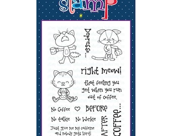 Your Next Stamp  Coffee....Right Meow!
