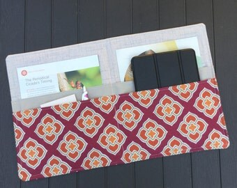 Service Folder, Ministry Folder, JW Magazine Folder, in Burgundy Spice - Made to Order