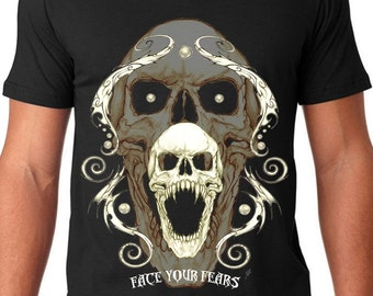 Face Your Fears V-neck T
