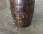 Decorative Whiskey Barrel