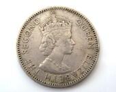 1959 Queen Elizabeth The Second One Schilling