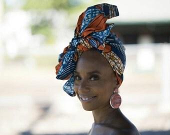 N Y O T A  African Print Head Wrap